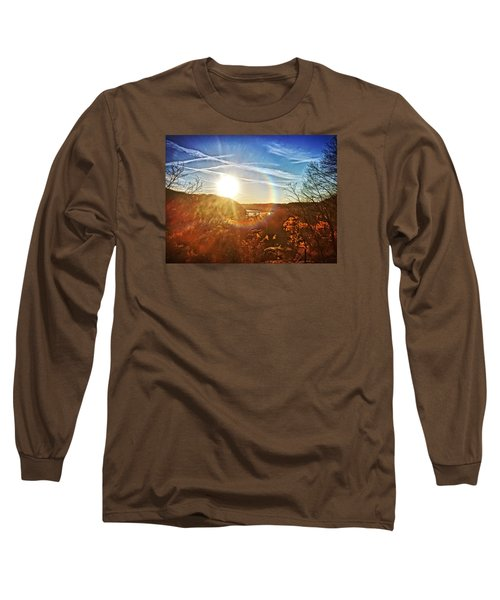 Harpers Ferry Sunset Long Sleeve T-Shirt
