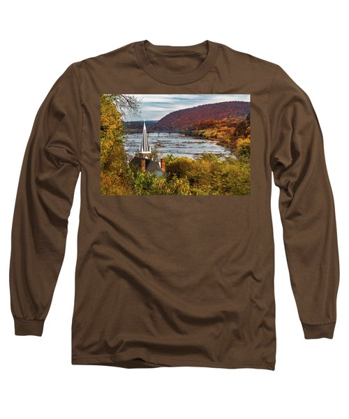 Harpers Ferry, West Virginia Long Sleeve T-Shirt