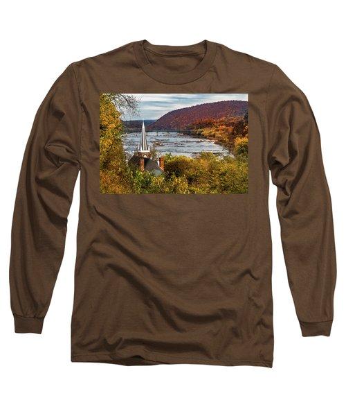 Harpers Ferry, West Virginia Long Sleeve T-Shirt