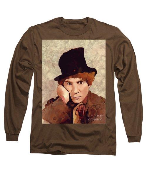 Harpo Marx, Hollywood Legend Long Sleeve T-Shirt