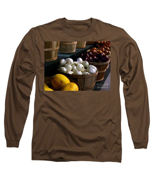 Long Sleeve T-Shirt featuring the photograph Harvest by Elfriede Fulda