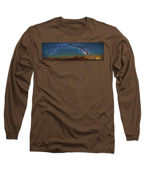 Hat Rock Milky Way Long Sleeve T-Shirt