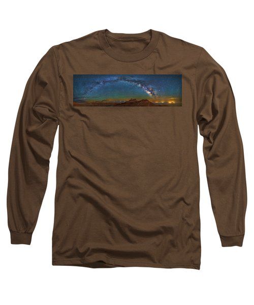 Hat Rock Milky Way Long Sleeve T-Shirt