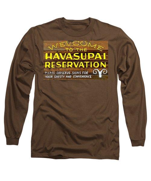 Long Sleeve T-Shirt featuring the photograph Havasupai Reservation by Joseph Hendrix