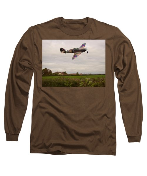 Hawker Hurricane -1 Long Sleeve T-Shirt by Paul Gulliver