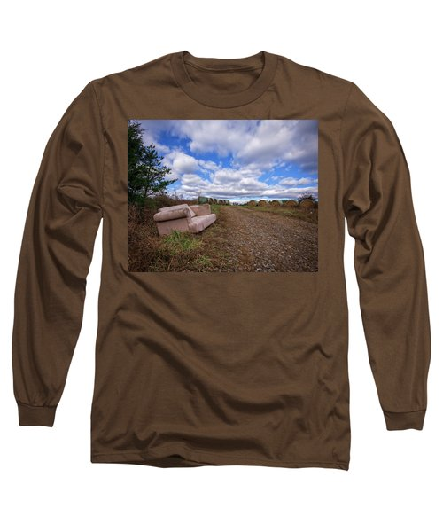 Hay Sofa Sky Long Sleeve T-Shirt