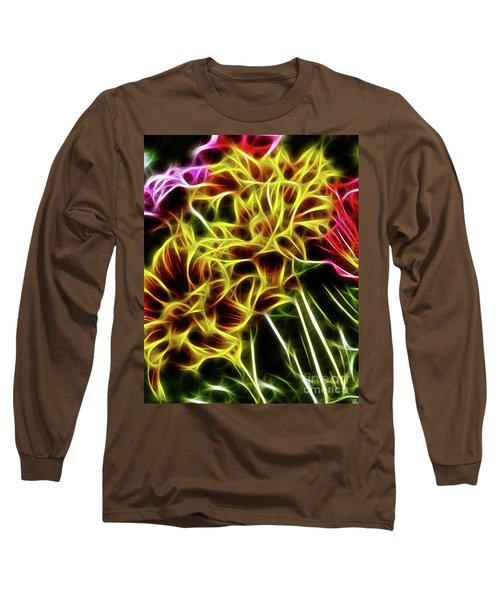 Hdr Light Drawing Long Sleeve T-Shirt