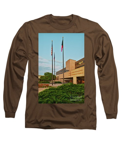 Long Sleeve T-Shirt featuring the photograph Health Sciences Medical Center by Mae Wertz