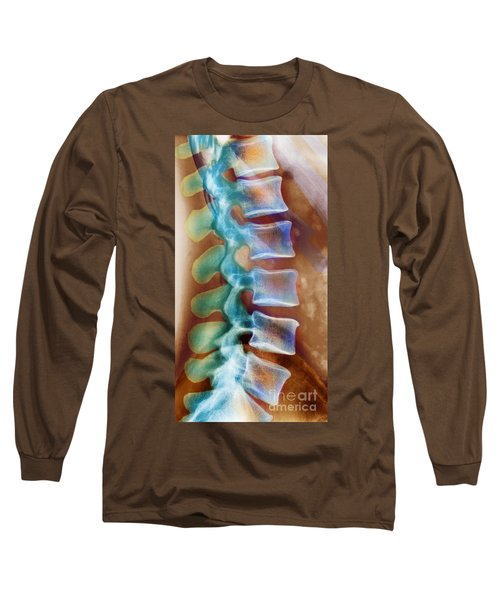 Healthy Lower Spine X-ray Long Sleeve T-Shirt