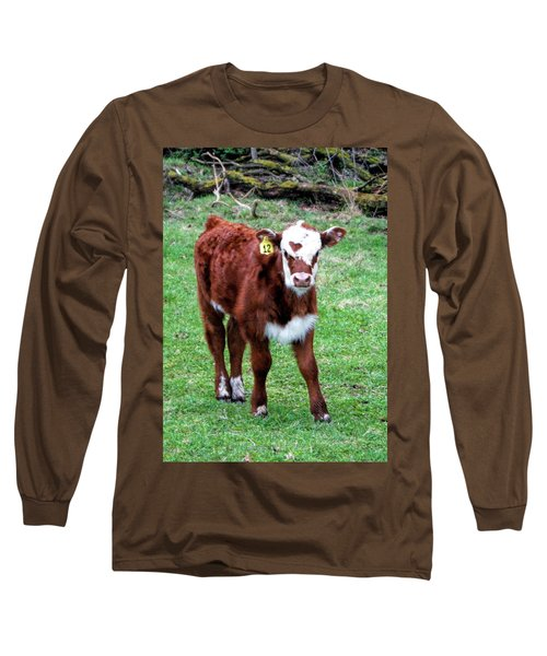 Long Sleeve T-Shirt featuring the photograph Heart by Cricket Hackmann