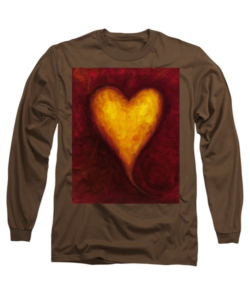Heart Of Gold 1 Long Sleeve T-Shirt