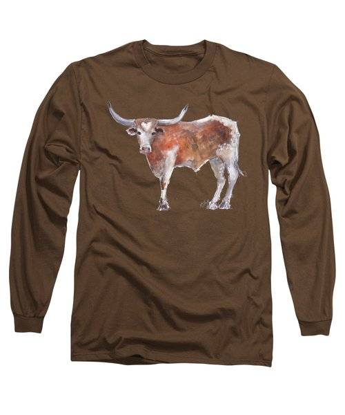 Heart Of Texas Longhorn Long Sleeve T-Shirt