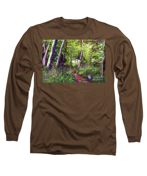 Heavenly Walk Among Birch And Aspen Long Sleeve T-Shirt