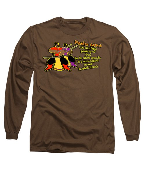Hebrew Soldier Brothahood Pt1 Long Sleeve T-Shirt