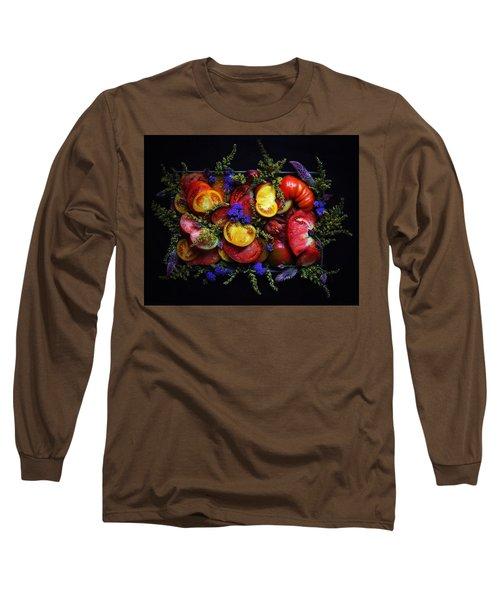 Heirloom Tomato Platter Long Sleeve T-Shirt