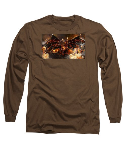 Hellborn Dragon Long Sleeve T-Shirt