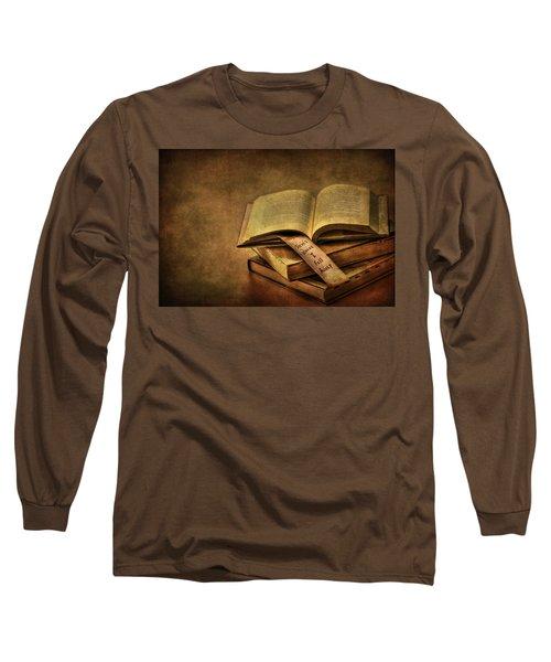 Here's Where I Fell Asleep Long Sleeve T-Shirt