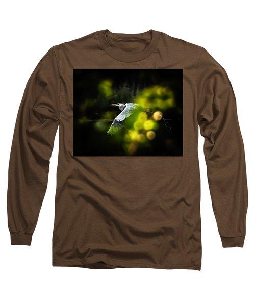 Heron Launch Long Sleeve T-Shirt