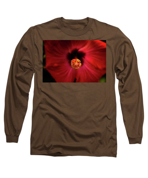 Hibiscus Long Sleeve T-Shirt by Jay Stockhaus