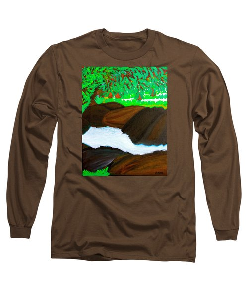 Hidden Paradise Long Sleeve T-Shirt by Lorna Maza