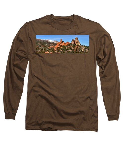 Long Sleeve T-Shirt featuring the photograph High Point View by Adam Jewell