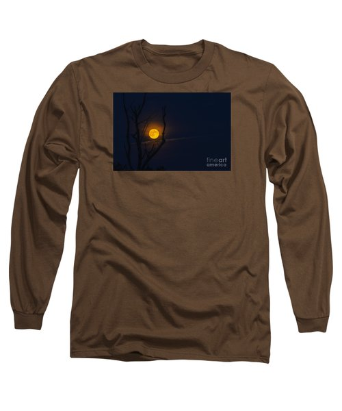 Highland Moon  Long Sleeve T-Shirt by Thomas R Fletcher