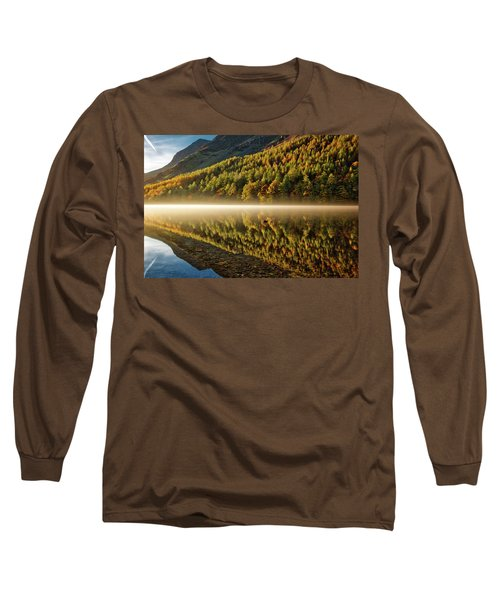 Hills In The Mist Long Sleeve T-Shirt