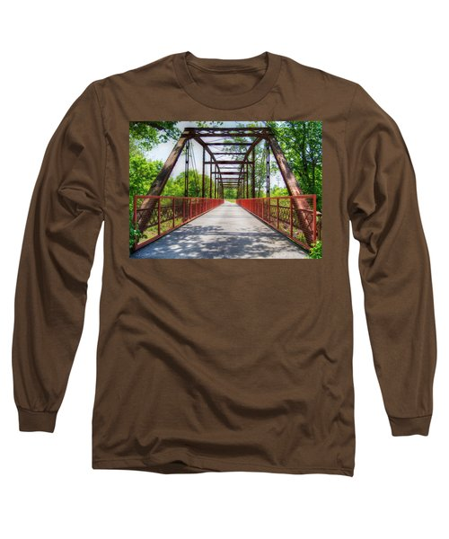 Hinkson Creek Bridge Long Sleeve T-Shirt by Cricket Hackmann