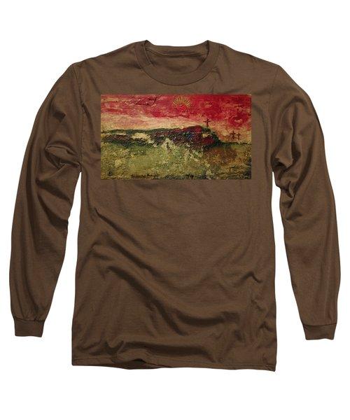 His Crucifiction Long Sleeve T-Shirt