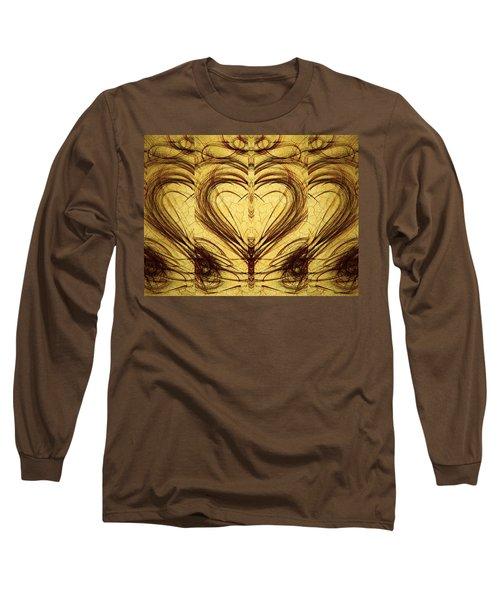His Healing Heart Long Sleeve T-Shirt