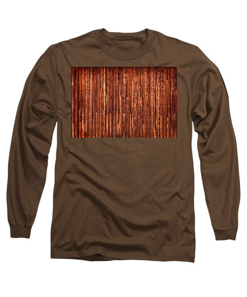 Historic Barnside Grand Tetons Long Sleeve T-Shirt by Steve Gadomski