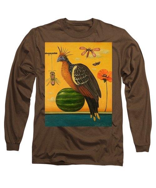 Hoatzin 2 Long Sleeve T-Shirt