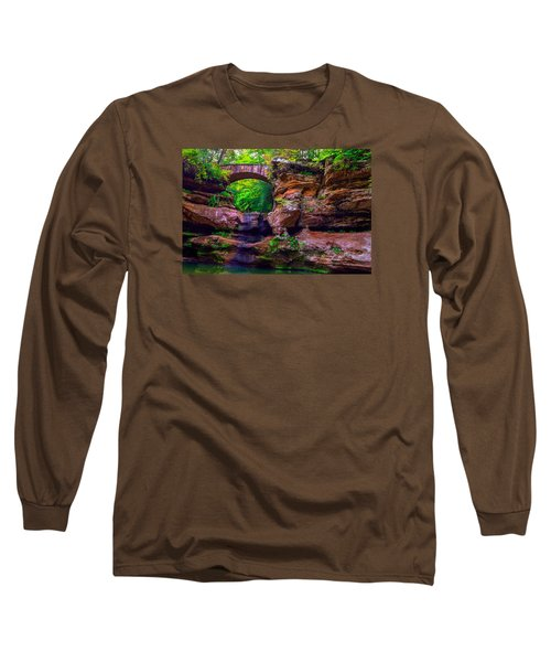Long Sleeve T-Shirt featuring the photograph Hocking Hills State Park 5 by Brian Stevens