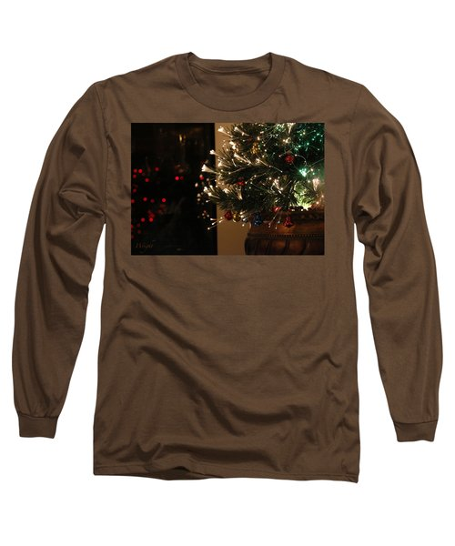 Holiday Attire Long Sleeve T-Shirt by Yvonne Wright