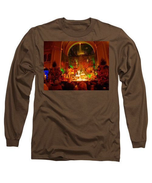 Holiday Decor In The Basilica Long Sleeve T-Shirt