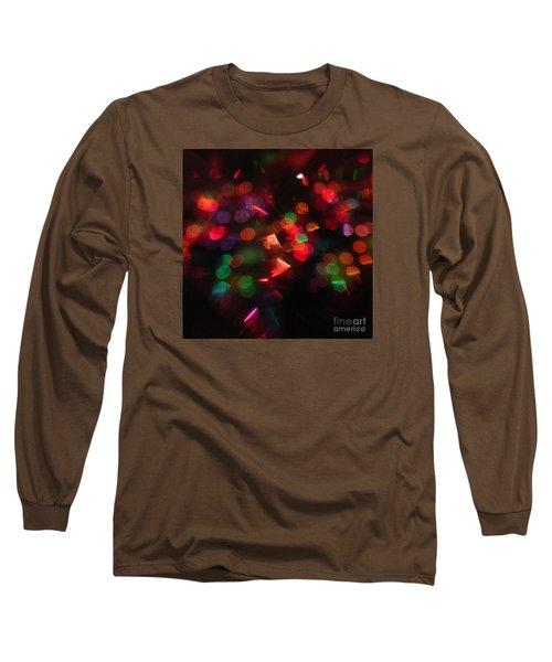 Holiday Lights Long Sleeve T-Shirt