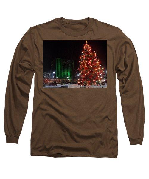 Holidays Downtown Long Sleeve T-Shirt