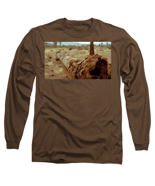 Hollow Lines Long Sleeve T-Shirt