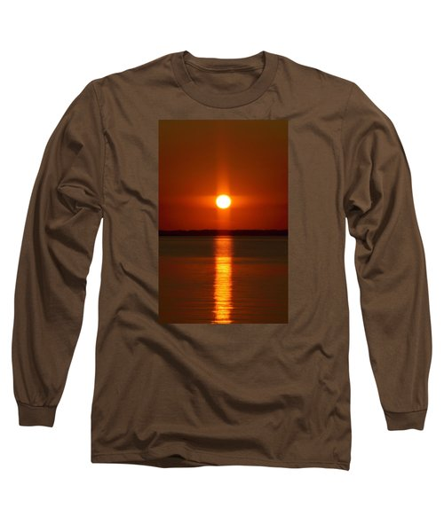 Holy Sunset - Portrait Long Sleeve T-Shirt by William Bartholomew