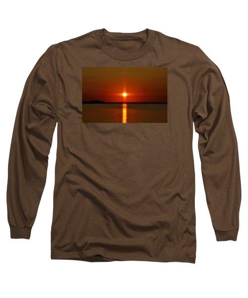 Holy Sunset Long Sleeve T-Shirt by William Bartholomew