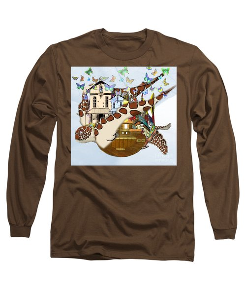 Home Within Home Long Sleeve T-Shirt by Belinda Threeths