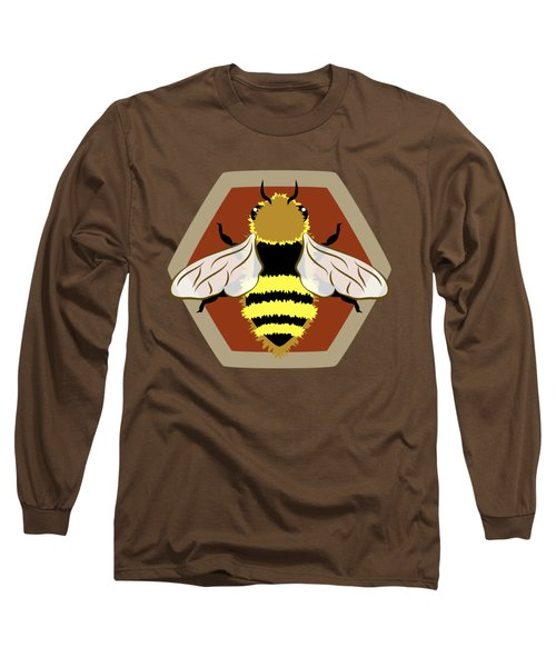 Honey Bee Graphic Long Sleeve T-Shirt