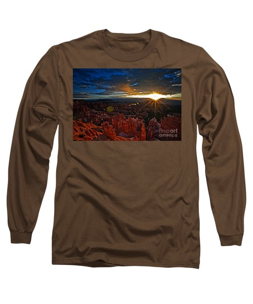 Hoodoos At Sunrise Bryce Canyon National Park Long Sleeve T-Shirt