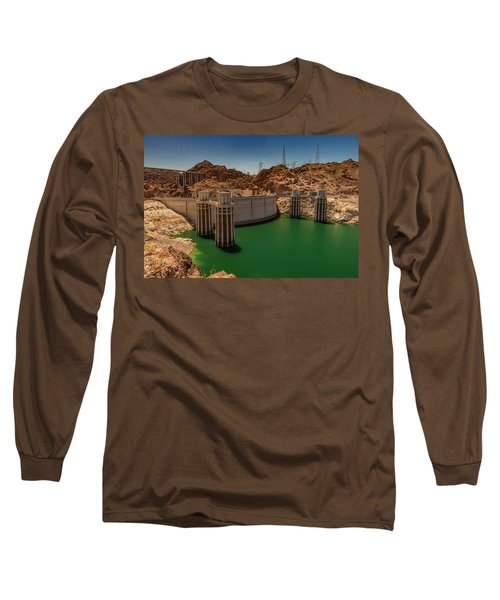 Hoover Dam Long Sleeve T-Shirt by Ed Clark