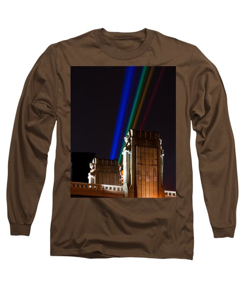 Hope Memorial Bridge, Aha Lights Long Sleeve T-Shirt