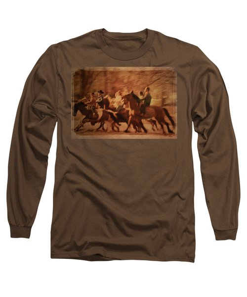 Horses In Motion  Long Sleeve T-Shirt