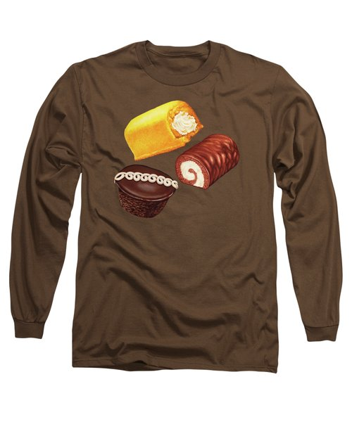 Hostess Cakes Pattern Long Sleeve T-Shirt