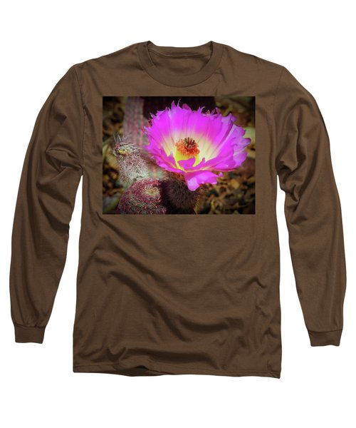 Hot In Pink Long Sleeve T-Shirt