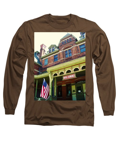 Hotel Florence Pullman National Monument Long Sleeve T-Shirt