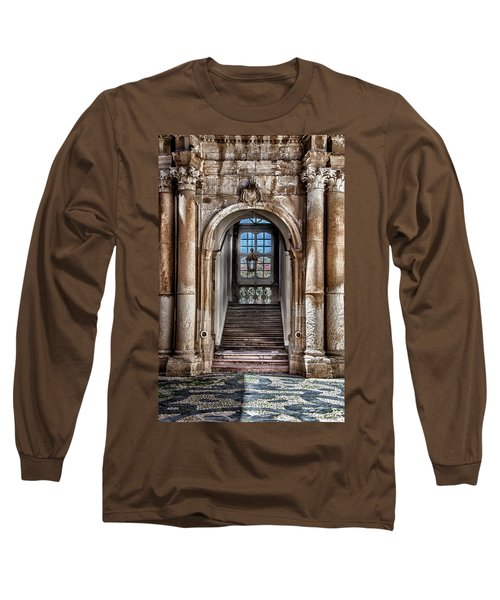 House Entrance Palermo  Long Sleeve T-Shirt by Patrick Boening
